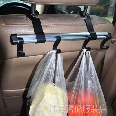 汽车创意加长版铝合金挂钩椅背多用途置物挂钩车用挂钩车内用品