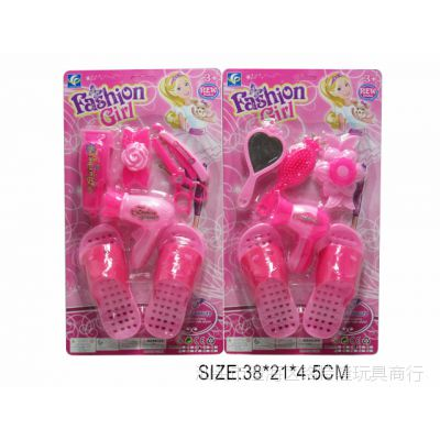 批发小玩具 饰品配鞋子 女孩饰品套装玩具 外贸热销批发