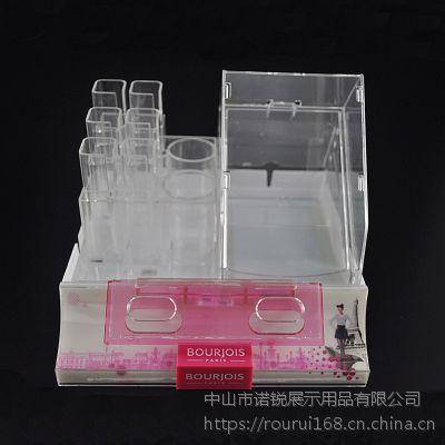 高透有机玻璃展示盒 注塑类展示盒 有机化妆品陈列盒