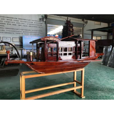红船模型 书桌装饰 工艺品 嘉兴红船摆件