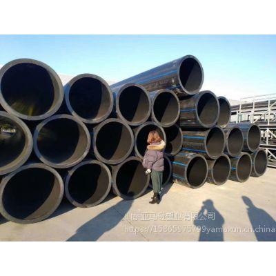 山东亚马逊塑业厂家直销dn110-315 HDpe消防专用管