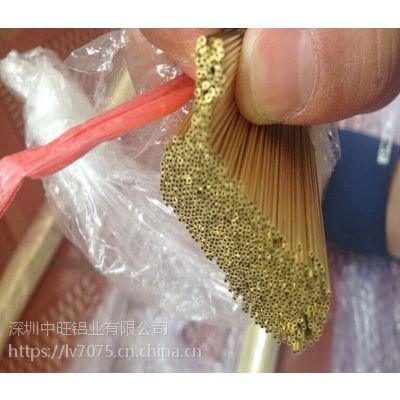 中旺现货供应H65花纹黄铜棒切割去毛刺铜含量达标