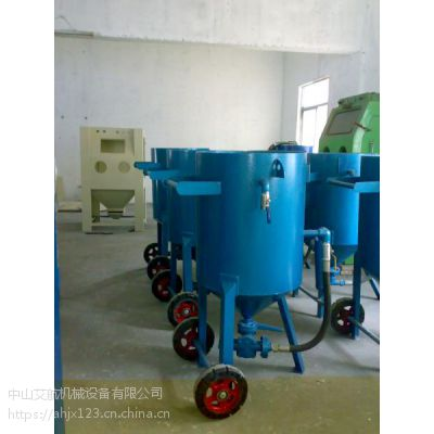 中山移动除锈机 湿式喷砂机无尘无污染设备