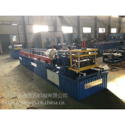 沧州地鑫500型大方板设备 户外广告牌成型机 广告扣板机现货销售中
