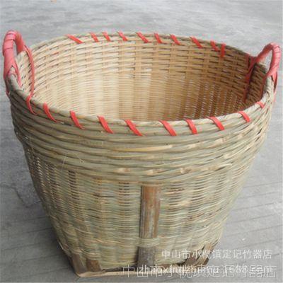 量大优惠  工厂直销 竹制品竹编织 结婚竹箩筐日子箩淘米箩
