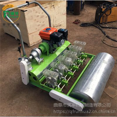 大葱芝麻精播机 莴苣萝卜生菜种植机 尺寸可调多行谷子播种机