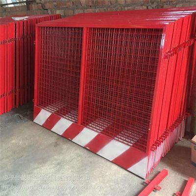 工程施工围栏 安全标志护栏 文明施工建设