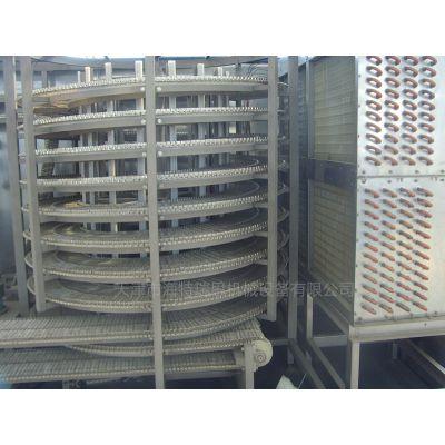 全自动大虾速冻生产线 大虾速冻机 海鲜速冻隧道 水产品单冻机 大虾螺旋速冻机
