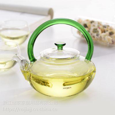 谜家/MYKEA 600ml高硼硅耐热玻璃花茶壶BH180103