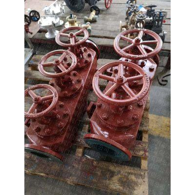 船用法兰铸铁单排吸入截止阀箱GB/T1854-93