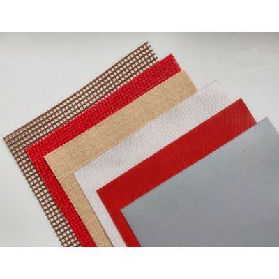 厂家供应特氟龙涂层玻璃纤维布 PTFE博物馆建筑膜材