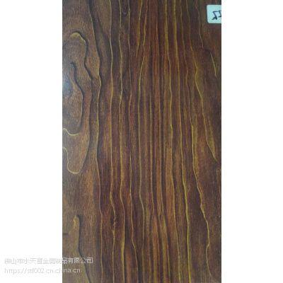 供应不锈钢紫檀木木纹板橱柜定制厂家产品
