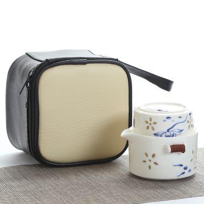 功夫旅行茶具套装便携随身带快客杯 高档小礼品拓客户