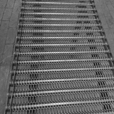 不锈钢网链厂家直销食品物流快递流水线耐高温输送带
