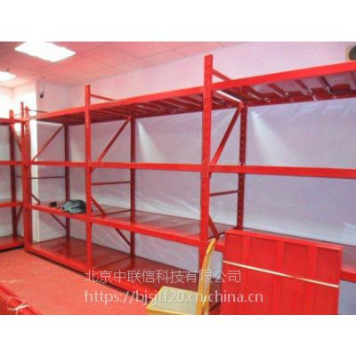 中联信消防器材货架 家用型轻型置物架 涂料冷轧钢货架 可调节架子 北京厂家直销
