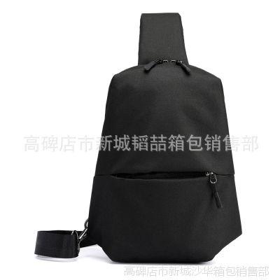 2017新款春夏韩版风范高品质胸包男 多层收纳户外骑行包工厂批发