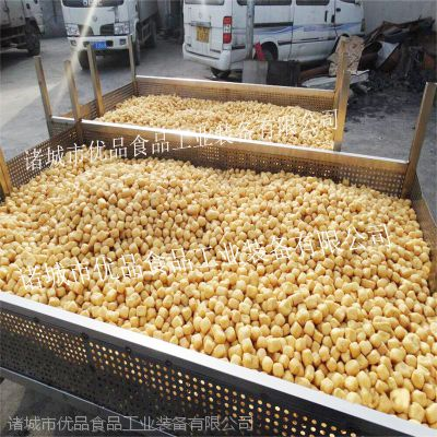 优品豆制品油炸机 豆腐油炸机 小型豆泡设备