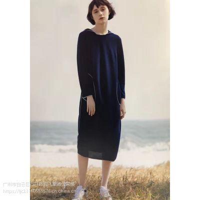 19年春莉佳丽品牌折扣女装大码货源