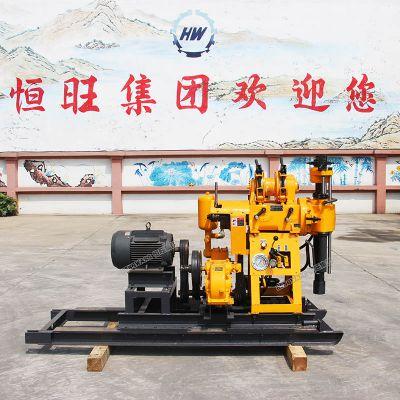 液压水井钻机 160米勘探岩心钻机 农用小型打井机厂家直销