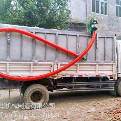强力高效蛟龙吸粮机 圆管大米提粮机 柴油动力玉米吸粮机