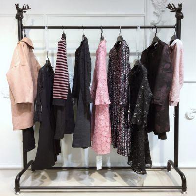上海原创设计师空序19年夏品牌女装货源棉麻连衣裙走份折扣批发