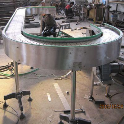 厂家直销耐磨损皮带转弯机 物流分拣线90度不锈钢转弯机 180度链板输送机