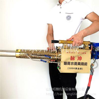 邦腾蔬菜大棚专用打药弥雾机 一键启动弥雾机背负式打药机多少钱