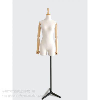 深圳模特 宏模模特 模特道具 半身包布模特 展示模特 装饰人台