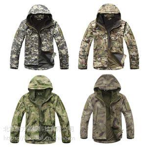 军用迷彩冲锋衣|野外训练迷彩冲锋衣|防水抗风迷彩冲锋衣