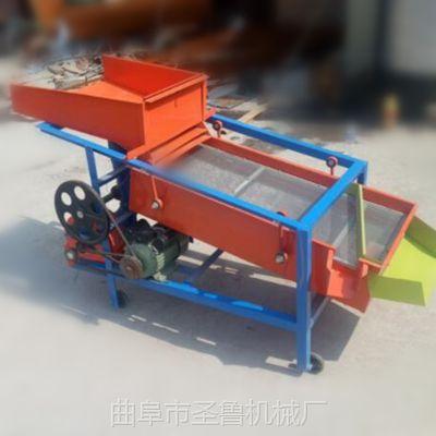 宁津县玉米筛选机 圣鲁多功能粮食振动筛
