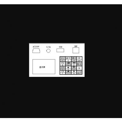 中西弦传感器显示仪(可配套穿心式压力传感器) 型号:JM05-JMZX-3006库号:M401553