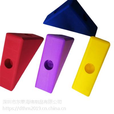 eva泡沫方块 益智早教环保积木玩具 桶装彩色EVA积木