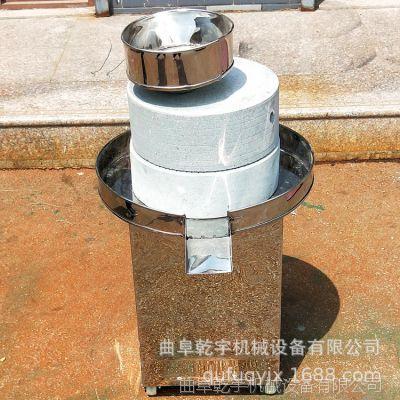 济南石磨臭豆腐机 电动商用豆浆石磨机 家用养生豆浆豆腐脑石磨机