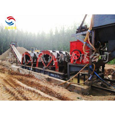 达州风化石破碎洗沙机厂家 东威机械为用户量身打造风化砂洗沙机