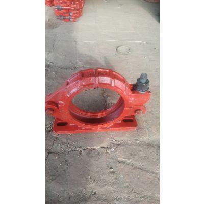 万泰高低压DN125泵管管卡厂家