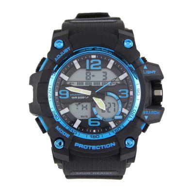 深圳手表工厂热销新款多功能塑胶防水大表盘运动手表