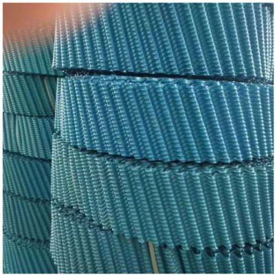 PVC全新优质透明圆塔填料 白色耐高温圆形冷却塔填料 循环水降温专用 品牌华庆