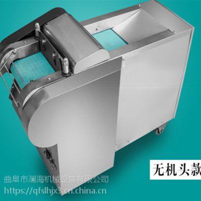 山东曲阜澜海机械多功能切菜机 豆角切段机生产厂家 辣椒切丝设备