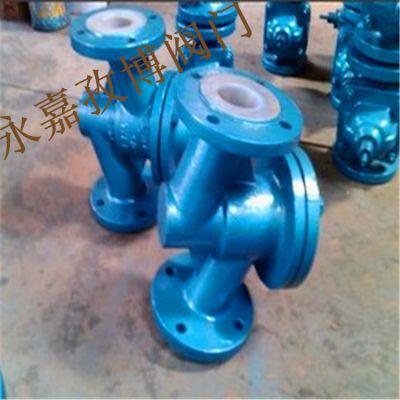 逆止阀厂家 H41F46-10P DN200 衬氟止回阀升降式 H41F4-10P