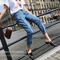 虎门地摊去哪找便宜牛仔裤货源批发广州新塘哪里有库存洗水棉弹牛仔裤低价处理
