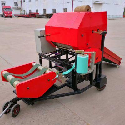 畜牧 养殖业机械 大型全自动青贮牧草包膜机