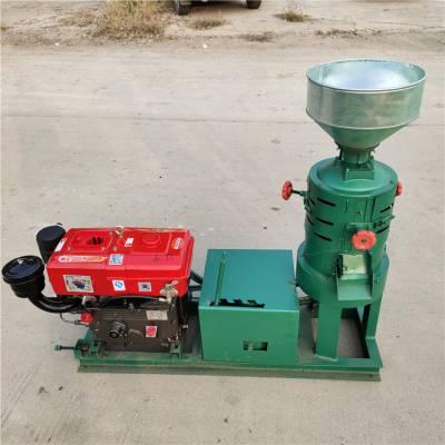 商用稻谷脱皮碾米机 220V小型家用碾米机供应厂家