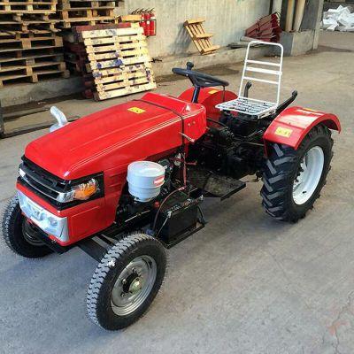 四轮拖拉机旋地机 家用20马力小型四轮拖拉机 果园小四轮拖拉机