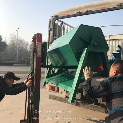 金属工件去油除污滚筒机 宏瑞 直销铜件滚桶研磨机价格