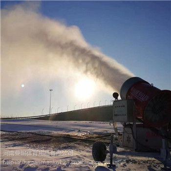 高效率出雪的人工造雪机 炮筒式造雪机价格