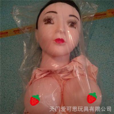 充气娃娃半实体无手脚指男用头发植入硅胶娃娃成人用品 厂家直销