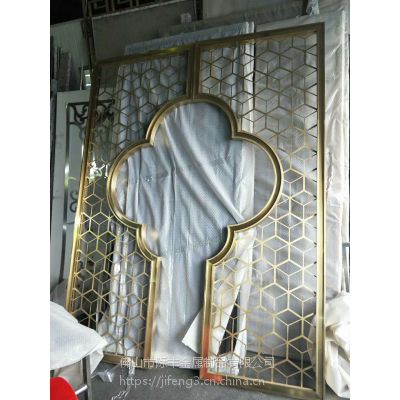 不锈钢隔断,装饰不锈钢花格厂家订制