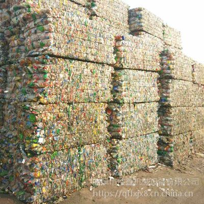 佳鑫移动秸秆压包机 易拉罐塑料薄膜压扁机 蒜皮自动套袋打包机厂家直销
