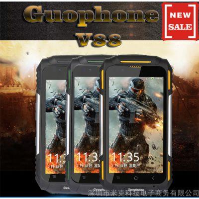 GUOPHONE V88军工户外三防安卓5.1智能手机 四核 1+8G 蓝牙WIFI