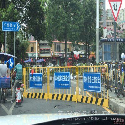 红色基坑护栏网 临时隔离防护网 现货库存隔离